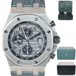 PAPERS Audemars Piguet Royal Oak Offshore Elephant 26470ST.00.A104CR.01 Watch