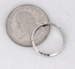 1930s Antique Art Deco Estate Platinum Etched 2mm Wedding Band Ring