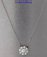 "Stunning Ladies Judith Ripka 925 Sterling Silver Round CZ 20.00"" Necklace"