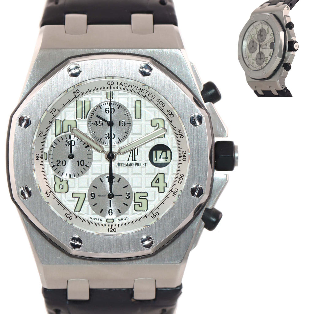 Audemars Piguet Royal Oak Offshore Steel 25721ST.00.1000ST.07 Chronograph Watch