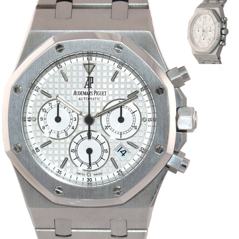 Audemars Piguet Royal Oak Chronograph 39mm Silver 25860ST.OO.1110ST.01 Watch