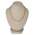"David Yurman 19.39g 18k Yellow Gold 2mm Box Link 16"" Necklace"