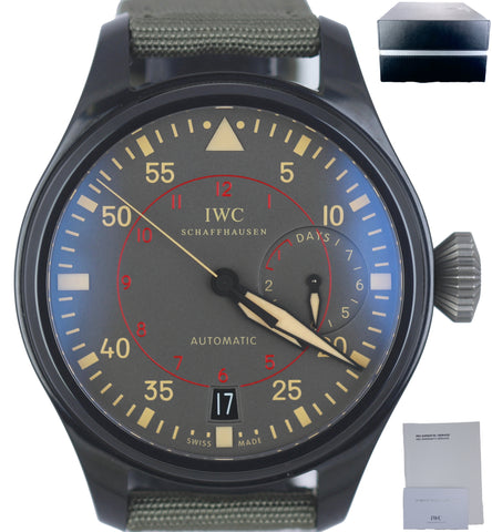 IWC Big Pilot Top Gun Miramar 48mm Black Ceramic Anthracite 5019-02 IW501902