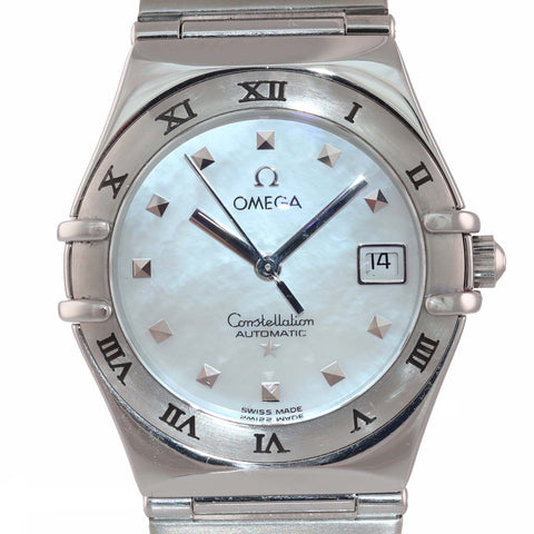 MINT PAPERS Ladies Omega Constellation Steel 1591.71 27mm MOP Automatic Watch