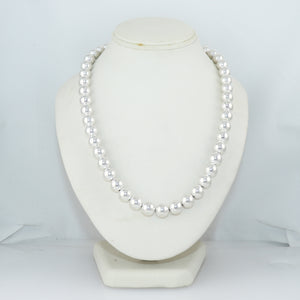 "Tiffany & Co. Sterling Silver Beaded Ball 18"" Necklace"