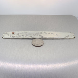 1999 Tiffany & Co. Sterling Silver Bookmark