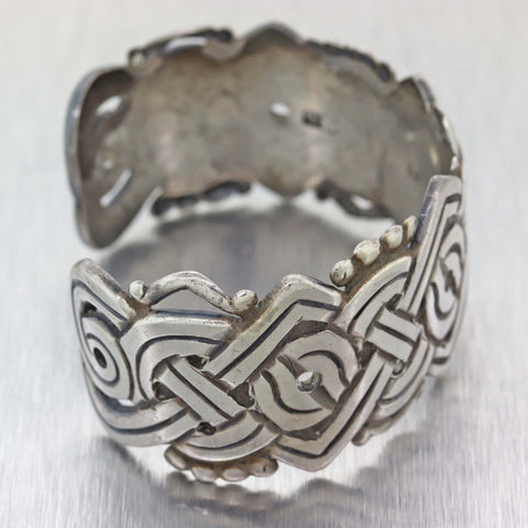 Antique William Spratling Taxco Mexico Sterling Silver Cuff Bracelet