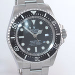 2020 NEW Rolex Sea-Dweller Deepsea Black Dial 126660 44mm Steel Watch STICKER