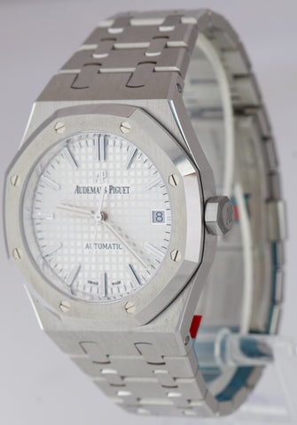 Audemars Piguet Royal Oak 37mm Stainless Steel Silver Watch 15450ST.OO.1256ST.01