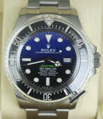 NEW OCT 2019 Rolex Sea-Dweller Deepsea James Cameron Blue Black 126660 44mm Dive
