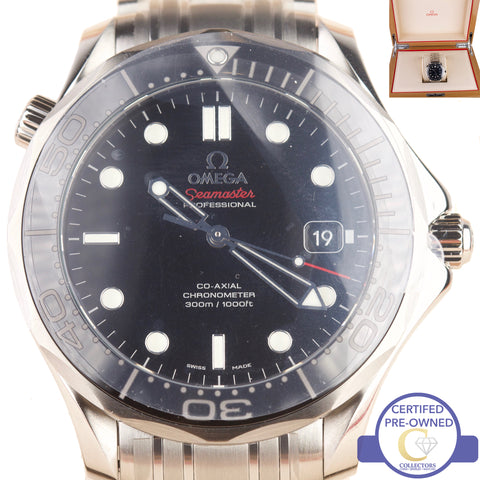 NEW Omega Seamaster Co-Axial 300M 212.30.41.20.01.003 Stainless Steel Watch