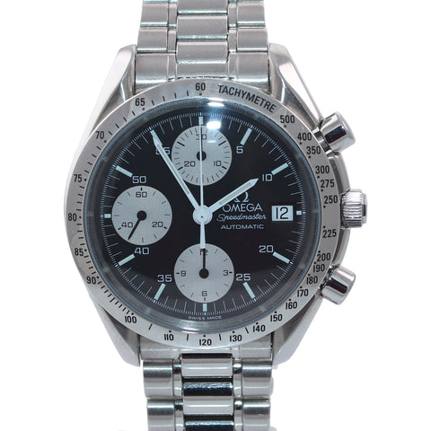 Omega Speedmaster Automatic 39mm Reverse Panda 3511.50 Steel Chronograph Watch