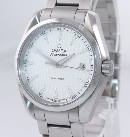 PAPERS Omega Seamaster Aqua Terra White Olympics 522.10.39.60.02.001 Watch Box