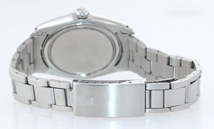 Vintage Rolex Oyster Date Stainless Steel 6694 Precision 34mm grey Manual Watch