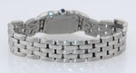 Ladies Cartier Panthere 22mm Ivory Roman Stainless Steel Quartz Watch 1320