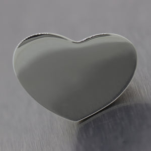 Tiffany & Co. Paloma Picasso Sterling Silver Double Modern Heart Ring