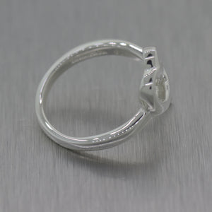 Tiffany & Co. Paloma Picasso Sterling Silver Loving Heart Ring