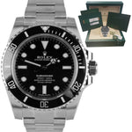BRAND NEW JULY 2019 Rolex Submariner No-Date Stainless Steel 40mm Watch 114060