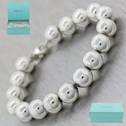 Tiffany & Co. Sterling Silver Ball Bead Bracelet