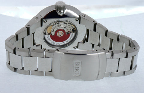 MINT Oris Williams F1 Team Day Date Stainless Automatic Mens 40MM Watch