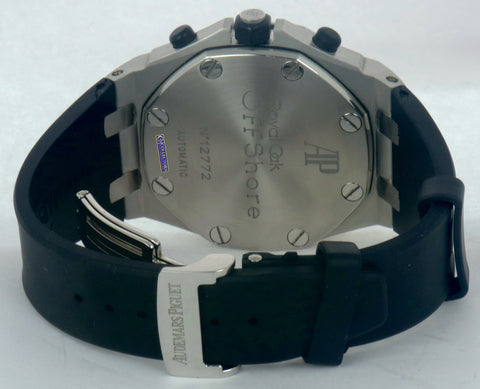 MINT Audemars Piguet Panda Royal Oak Offshore 42mm Chronograph Stainless 26170