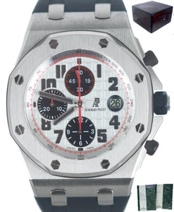 2014 Audemars Piguet Panda Royal Oak Offshore 42mm Chronograph Stainless 26170