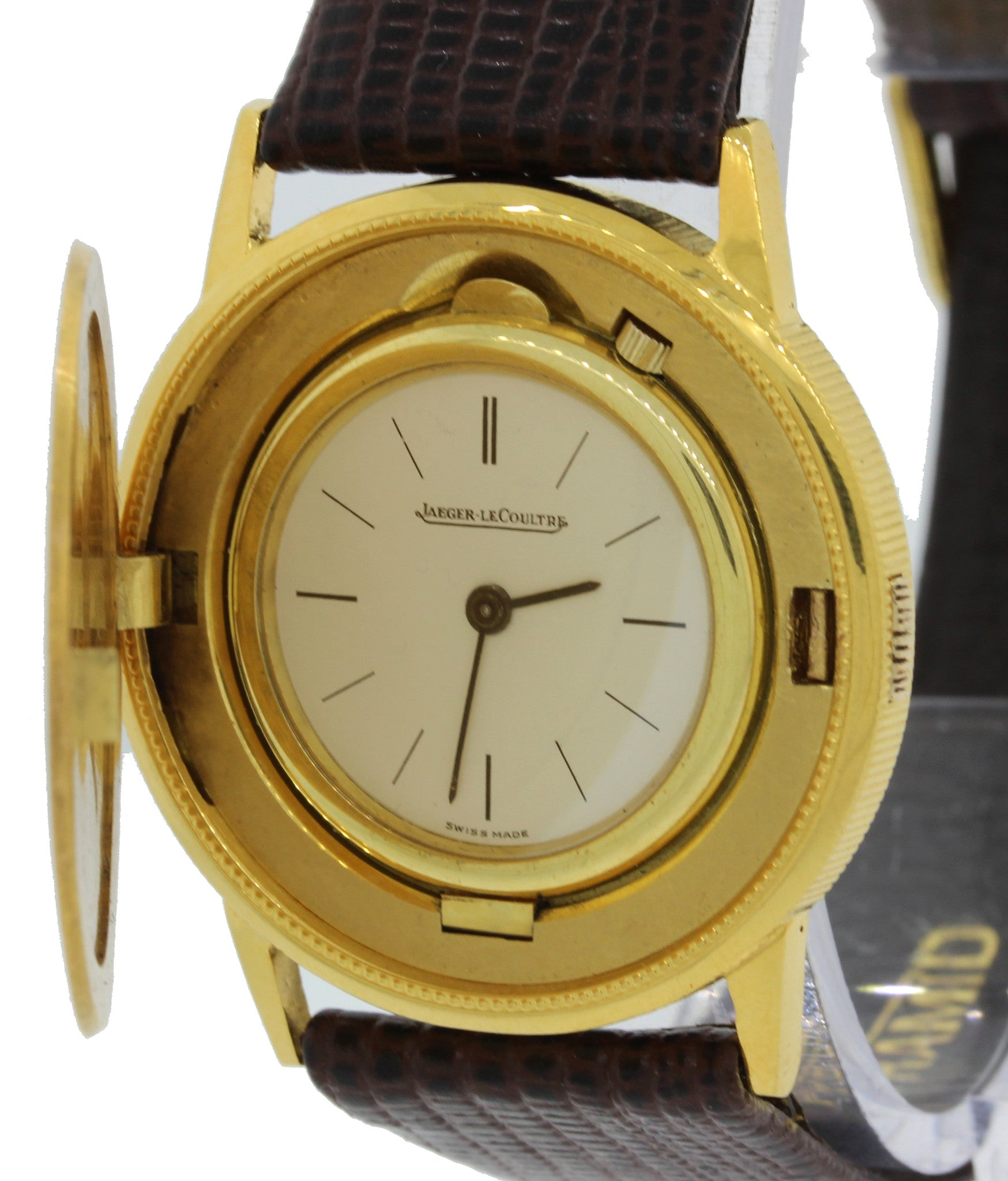 Jaeger LeCoultre 18k Yellow Gold Liberty $20 Coin 34mm Watch