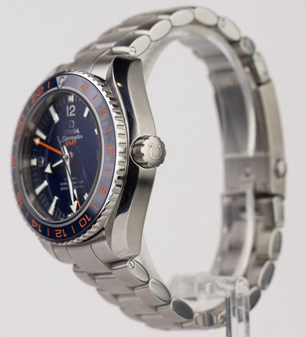2014 MINT Omega Seamaster Planet Ocean 43.5mm 232.30.44.22.03.001 Ceramic Watch