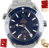 Omega Seamaster Professional 215.30.44.21.03.001 600M Blue Automatic Date Watch