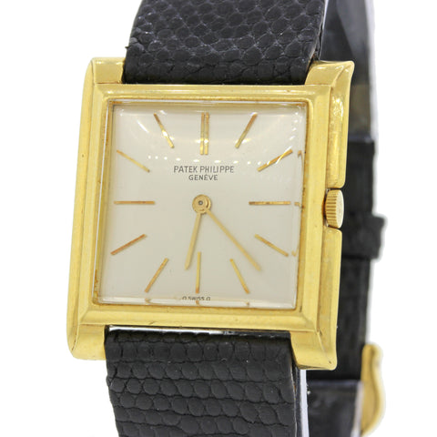 Vintage Lady Patek Philippe 18k Solid Yellow Gold Handwind Watch 2562