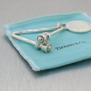 Tiffany & Co. Paloma Picasso Sterling Silver Key Chain