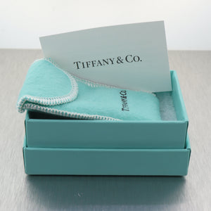 Tiffany & Co. Sterling Silver World Globe Key Chain