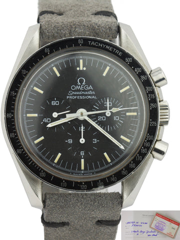 1994 Men's Omega Speedmaster 40mm Black Stainless Steel Moon Watch 3590.50