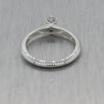 Tiffany & Co. Platinum 0.20ctw Diamond Engagement Ring