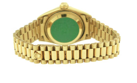 Ladies Rolex DateJust President 26mm Jubilee Diamond 69178 18K Yellow Gold Watch