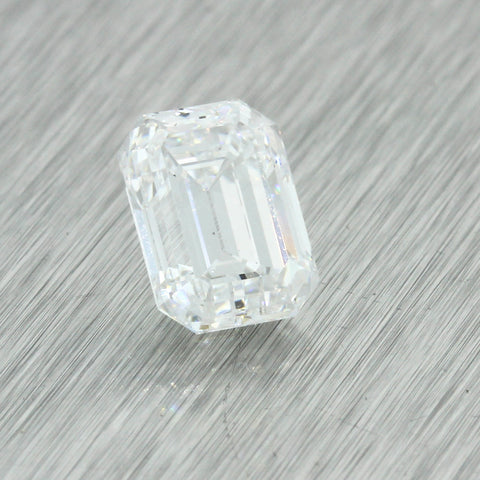 2.24ct GIA Certified Emerald Cut D VS2 Natural Loose Diamond