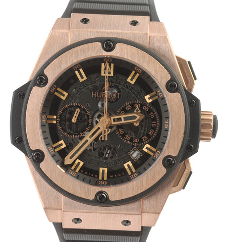 Hublot Big Bang King Power Unico 18K Rose Gold 48mm Skeleton 701.OX.0180.RX