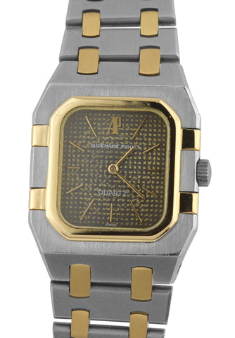 Ladies Audemars Piguet Royal Oak 24mm 18K Gold Two Tone Stainless Quartz Watch