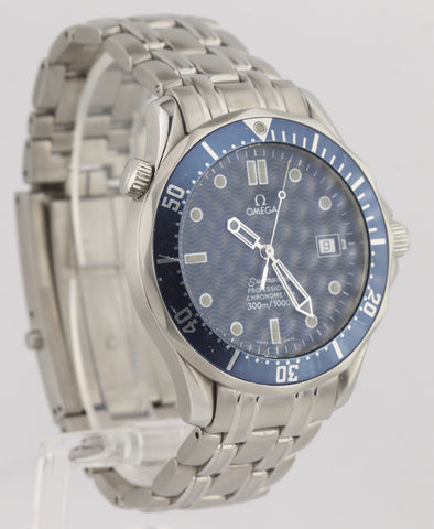 Men's Omega Seamaster Professional 300M 2531.80 Blue Wave Automatic 41mm Watch