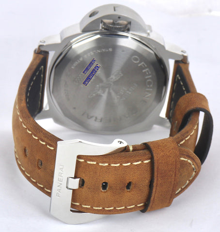 MINT Panerai PAM 390 N Luminor Base Tobacco Brown Boutique Edition 44mm PAM00390