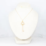 "Tiffany & Co. 18k Yellow Gold Key 31"" Necklace"