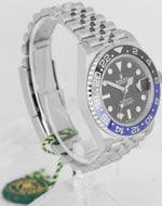 NEW FEBRUARY 2020 Rolex GMT Master II Batman Black Blue SS Ceramic 126710 BLNR