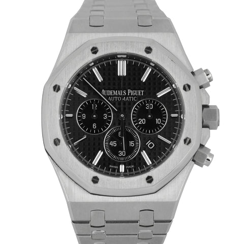 Audemars Piguet Royal Oak 41mm Chronograph Black Watch 26320ST.OO.1220ST.01