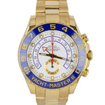 Men's Rolex Yacht-Master II 2 18K Solid Yellow Gold Regatta 44mm Watch 116688