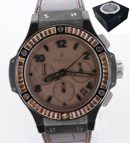 Hublot Big Bang Tutti Frutti 41mm Black Ceramic Brown Carat 341.CC.5490.LR.1916