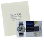 MINT 2018 F.P Journe Octa Divine 40 40mm Platinum Silver MoonPhase Power Reserve