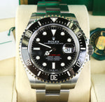 NEW JAN 2020 Rolex Red Sea-Dweller 43mm Mark II 50th Anniversary Steel 126600