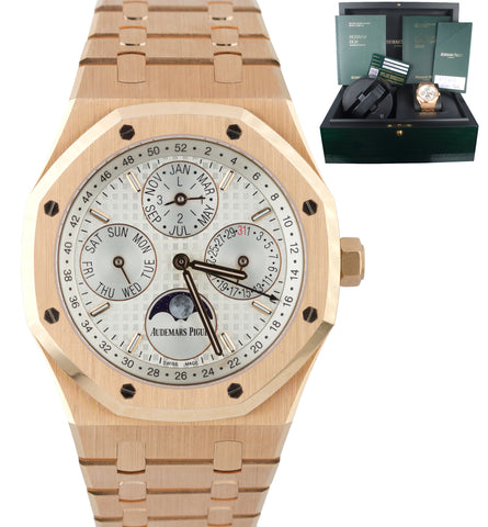 Audemars Piguet Royal Oak Perpetual Calendar 18K Rose Gold 26574OR.OO.1220OR.01