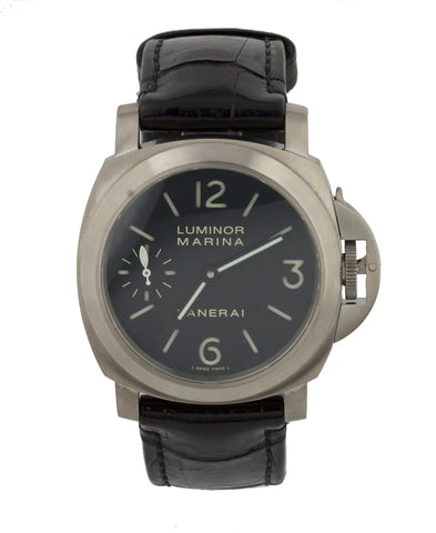2008 Panerai PAM 177 Luminor Marina Titanium Chronograph Automatic 44mm Watch