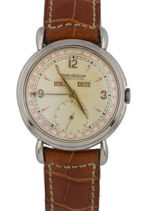 Jaeger LeCoultre 2904 Fabrique En Suisse Triple Calendar Wristwatch Tear Dropped